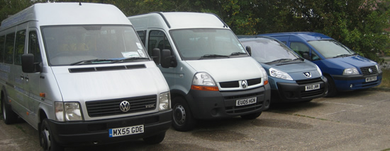 community transport minibuses